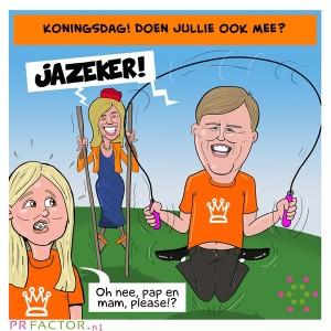 Cartoon5 Koningsdag